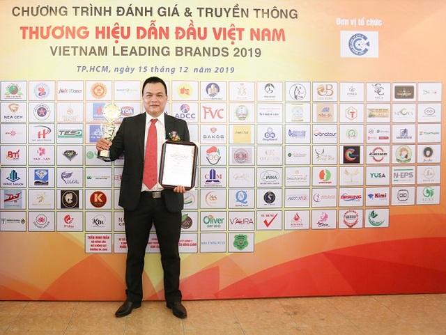 Sakos được vinh danh Top 10 thuơng hiệu dẫn đầu Việt Nam 2019 - 3