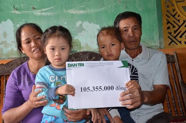 Vợ chồng nghèo bán ruộng cứu con được bạn đọc giúp đỡ hơn 105 triệu đồng - 5