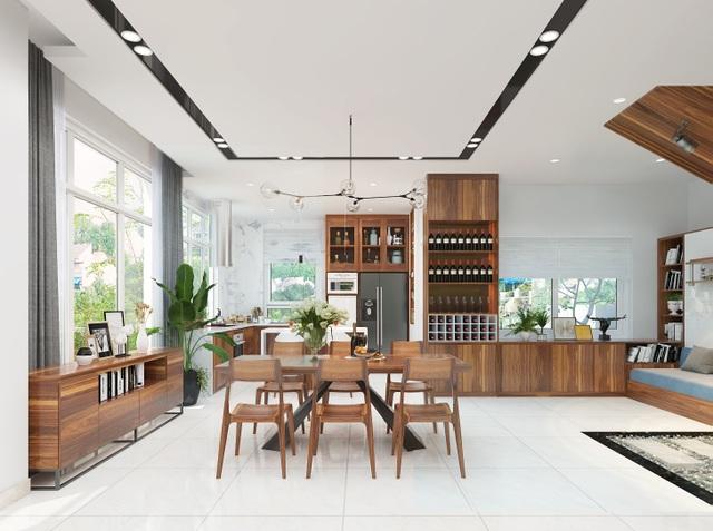 Đại gia Hà Nội chi 1,5 tỷ đồng thuê thiết kế, đưa cây xanh vào nhà - 3