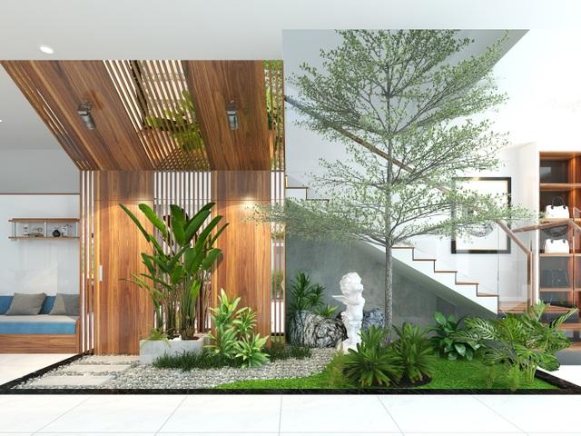 Đại gia Hà Nội chi 1,5 tỷ đồng thuê thiết kế, đưa cây xanh vào nhà - 9