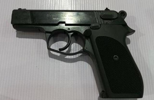 Nguyên trưởng công an xã đánh mất súng do công an tỉnh cấp - 1