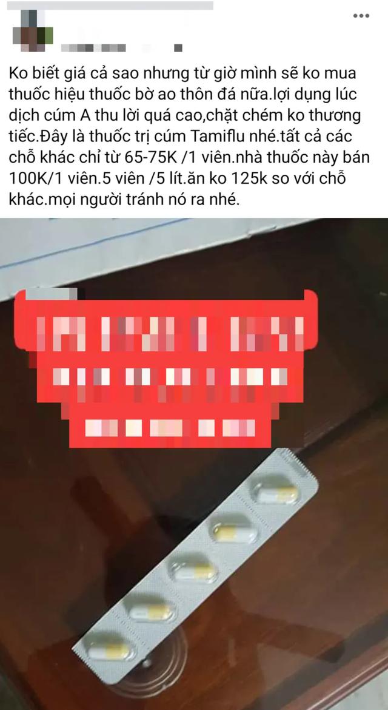 Bi hài mùa cúm A: Người khốn đốn vì khan thuốc, người tranh thủ làm giàu - 3