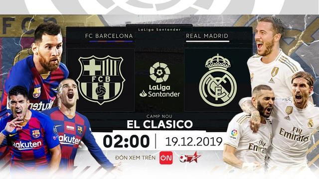 Barcelona - Real Madrid: Bước ngoặt quyết định - 1