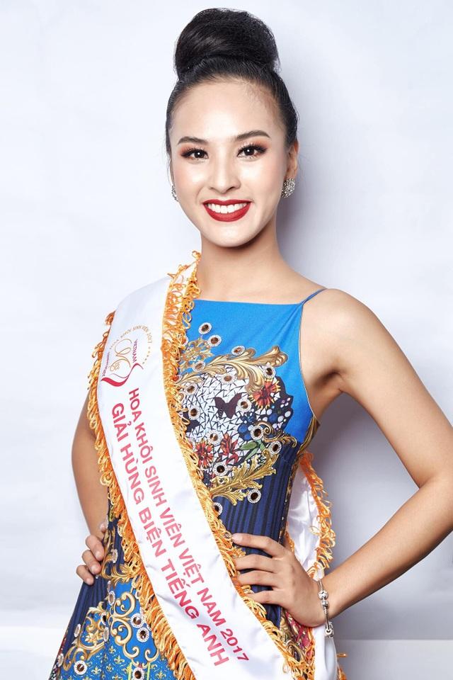 Á khôi Sinh viên Việt Nam được chọn làm đại diện thi Hoa hậu Sắc đẹp Quốc tế - 3