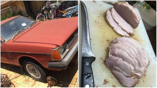 """Nắng nóng khắc nghiệt ở Australia, ô tô biến thành """"lò nướng"""" thịt lợn - 1"""