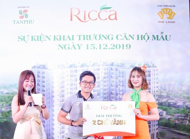 Khai trương căn hộ mẫu Ricca - Tối ưu diện tích và tài chính cho gia đình trẻ - 2