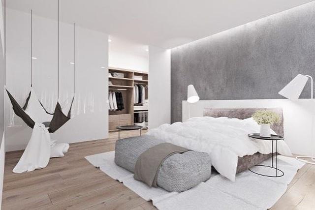 Biến tấu phòng ngủ cho vợ chồng trẻ vừa sang trọng, vừa không lo lỗi mốt - 1