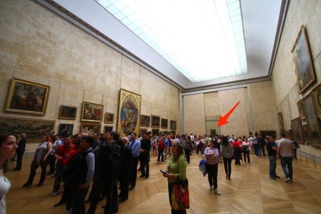 Thực tế đáng thất vọng của các tác phẩm nghệ thuật nổi tiếng ngoài đời thật - 9