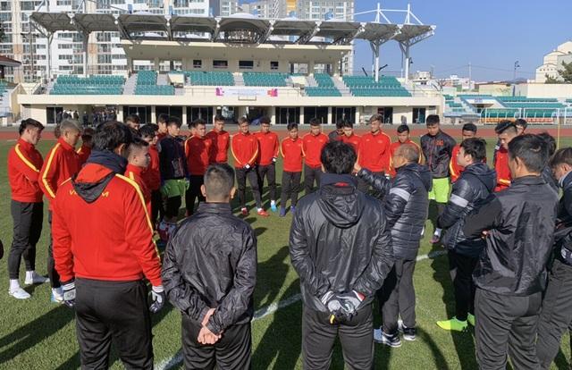 U23 Việt Nam hoà đội sinh viên Hàn Quốc - 1