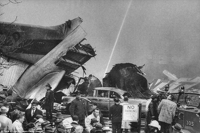59 năm vụ hai máy bay đâm nhau thảm khốc trên bầu trời New York - 5
