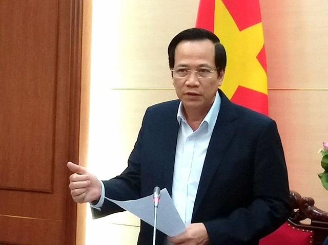 """Bộ trưởng Đào Ngọc Dung: """"Nghịch lý thiếu cả thầy lẫn thợ"""" - 1"""