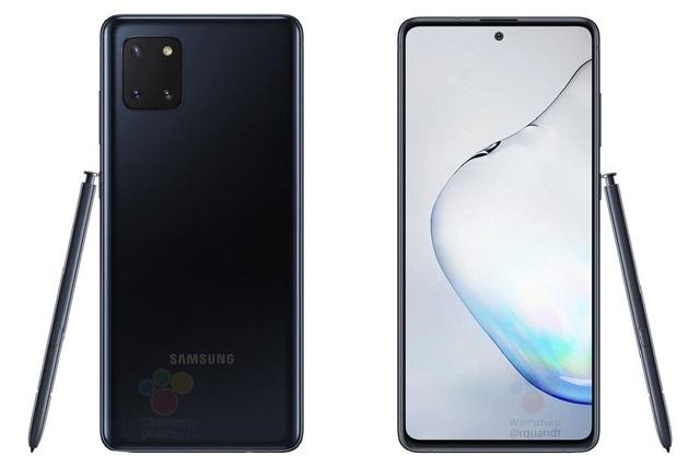 Lộ ảnh chính thức Galaxy Note10 Lite với cụm camera vuông nổi bật - 3