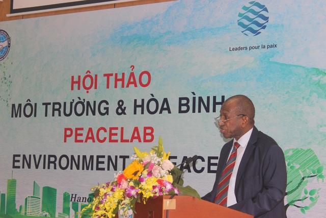 Cựu Thủ tướng Guinea nêu giải pháp cải thiện chất lượng không khí tại Hà Nội - 1