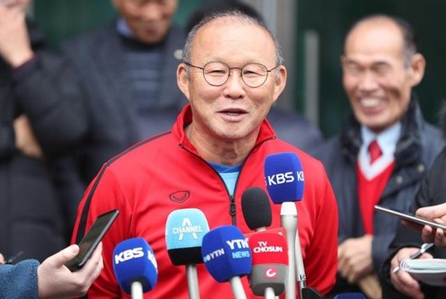 HLV Park Hang Seo đặt mục tiêu khiêm tốn tại giải U23 châu Á - 1
