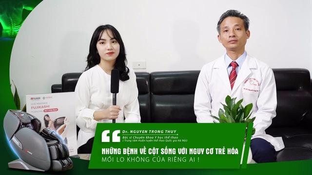 """Tài Phát Sport - Talkshow cùng BS Nguyễn Trọng Thủy về """"Bệnh cột sống - Nguy cơ trẻ hóa và mối lo không của riêng ai"""" - 1"""