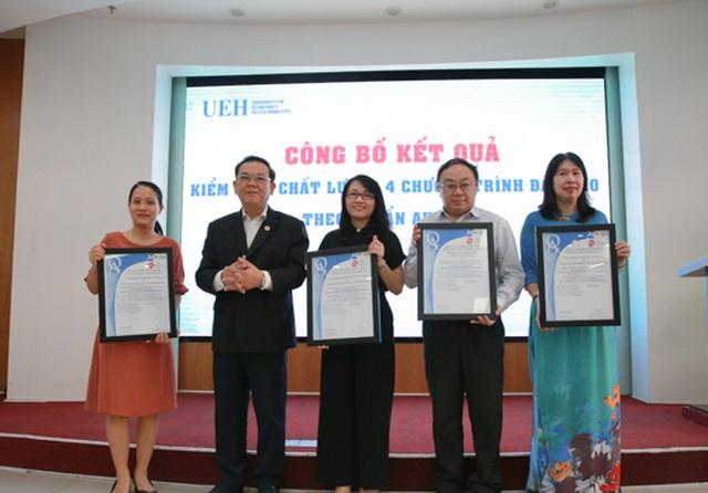 Thêm 4 ngành đào tạo ở ĐH Kinh tế TPHCM đạt chuẩn AUN - 1