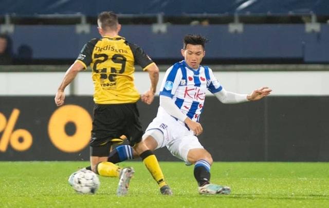Văn Hậu nhận thẻ vàng trong ngày Heerenveen chiến thắng ở Cúp Quốc gia Hà Lan - 1