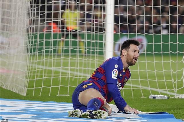 Barcelona và Real Madrid bất phân thắng bại ở Nou Camp - 10
