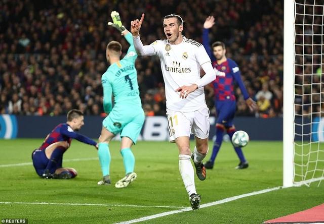 Barcelona và Real Madrid bất phân thắng bại ở Nou Camp - 6