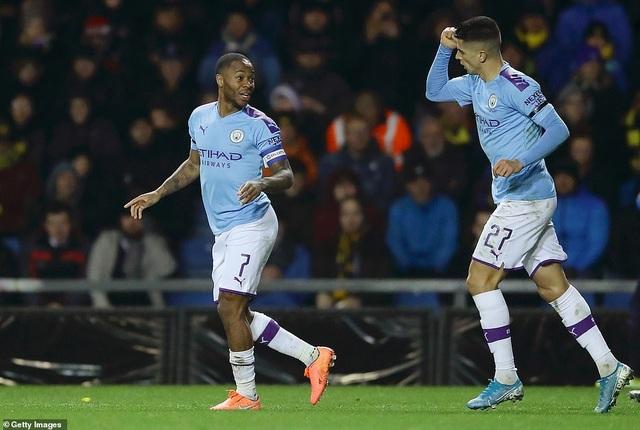 Giành vé vào bán kết League Cup, Man City đụng Man Utd - 1