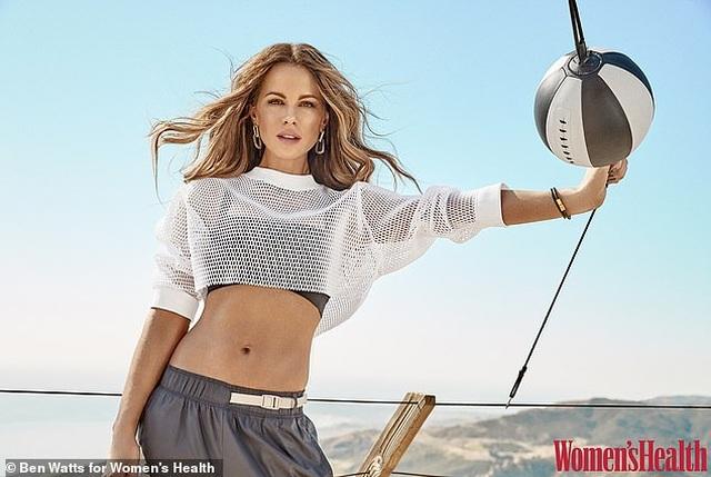 Kate Beckinsale tiết lộ bí quyết giữ dáng chuẩn ở tuổi 46 - 3