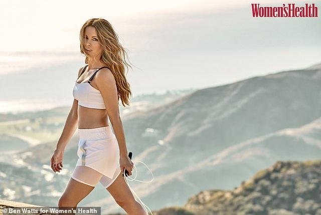 Kate Beckinsale tiết lộ bí quyết giữ dáng chuẩn ở tuổi 46 - 1