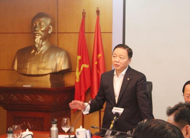 Bộ trưởng Trần Hồng Hà: Thông tin không đúng về ô nhiễm không khí sẽ gây hoang mang - 2