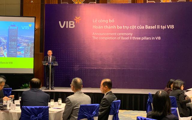 Ngân hàng đầu tiên hoàn thành cả 3 trụ cột Basel II - 1