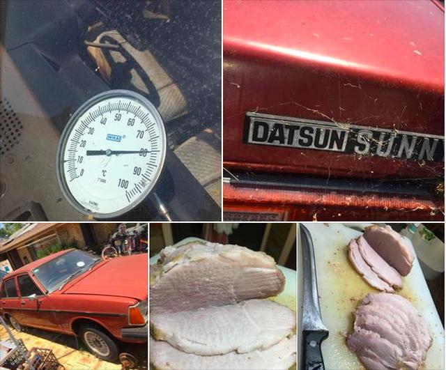 Cả thế giới đang mùa Đông nhưng riêng ở Úc thịt được nấu chín trong ô tô vì... trời nóng - 1