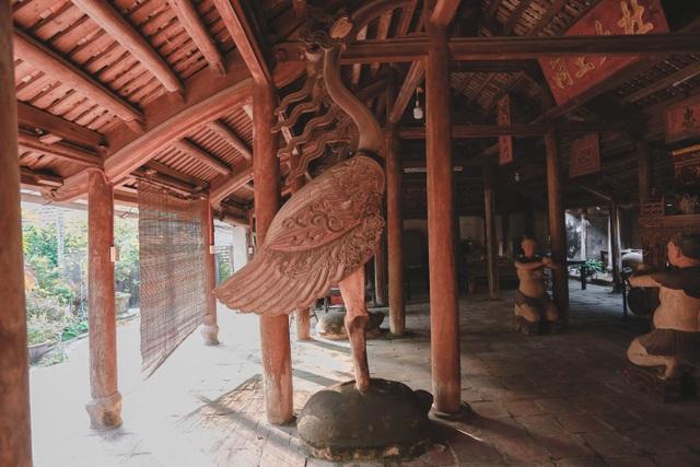 Độc nhất nhà cổ 300 tuổi làm từ gỗ lim, nằm giữa khu vườn xanh mát mắt ở Hà Nội - 8