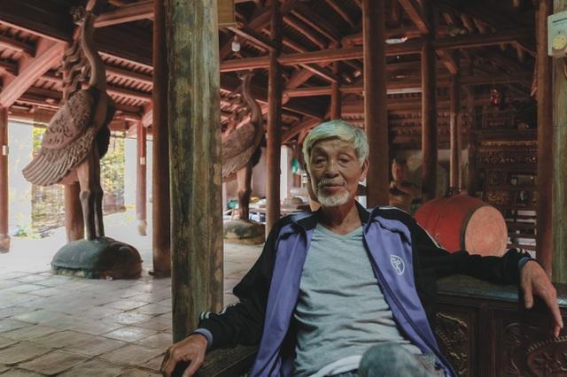 Độc nhất nhà cổ 300 tuổi làm từ gỗ lim, nằm giữa khu vườn xanh mát mắt ở Hà Nội - 9
