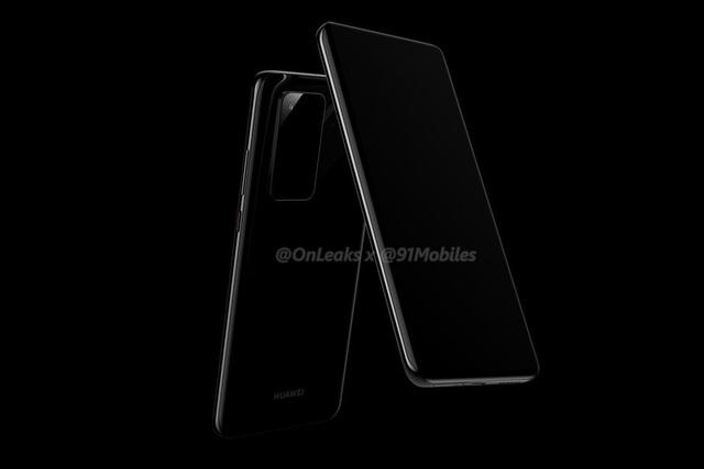 Lộ ảnh thiết kế Huawei P40 Pro với màn hình cong 4 cạnh, cụm camera chữ nhật - 2