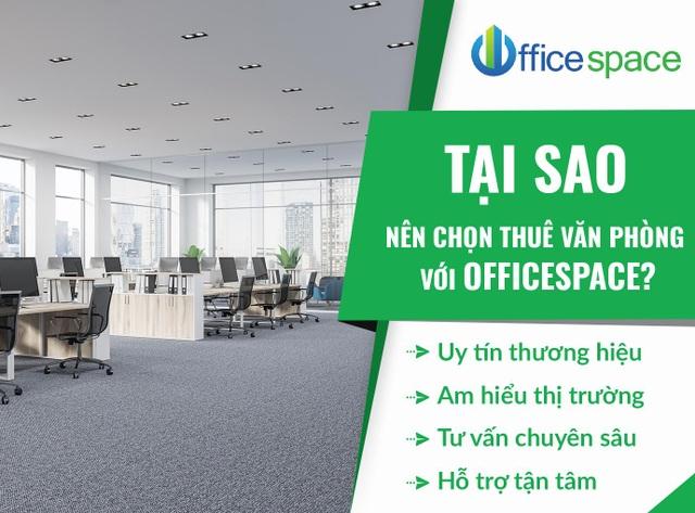 """Thuê văn phòng không còn là """"nỗi lo"""" với dịch vụ của Officespace.vn - 1"""