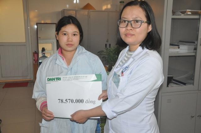 Vợ chồng dân tộc Dao được bạn đọc Dân trí đến tận viện giúp đỡ - 4