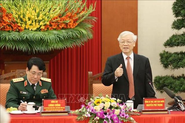 Tổng Bí thư, Chủ tịch nước: Chặn cho được biểu hiện suy thoái trong quân đội - 1