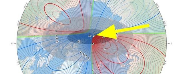 Cực từ Trái Đất dịch chuyển nhanh về phía Nga khiến giới khoa học đau đầu - 1