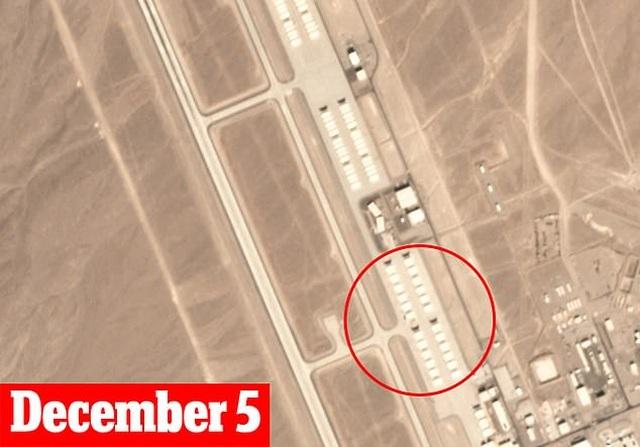 Ảnh vệ tinh tiết lộ 12 máy bay lạ tại căn cứ tuyệt mật của Mỹ - 2