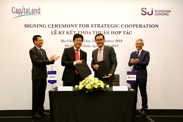 CapitaLand hợp tác Surbana Jurong phát triển đô thị thông minh bền vững - 1