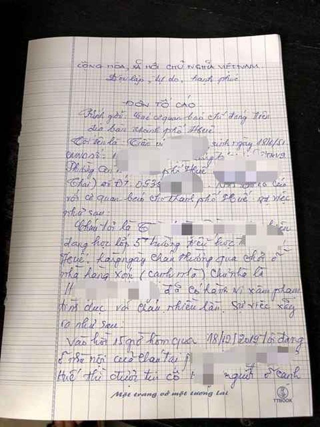 Nữ sinh 11 tuổi nghi bị hàng xóm nhiều lần xâm hại tình dục - 1