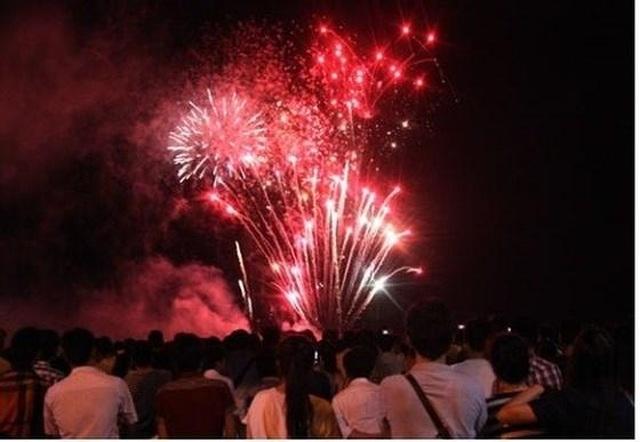 Huyện nghèo thuộc diện 30a bắn pháo hoa đón năm mới - 1
