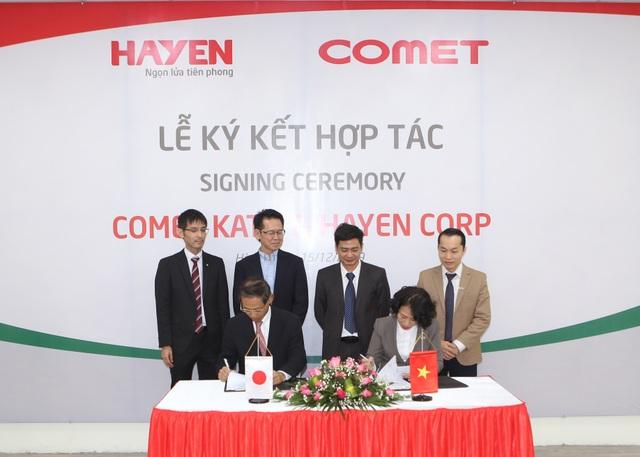 Lễ ký kết thỏa thuận hợp tác chiến lược giữa Hà Yến (Việt Nam) và Comet Kato (Nhật Bản) - 1