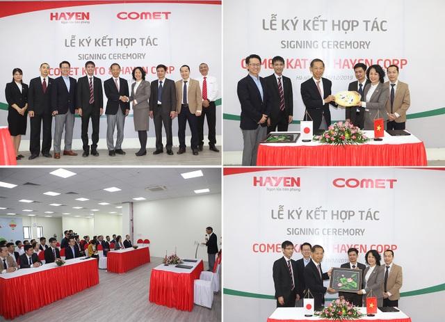 Lễ ký kết thỏa thuận hợp tác chiến lược giữa Hà Yến (Việt Nam) và Comet Kato (Nhật Bản) - 3