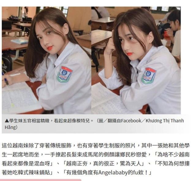 """""""Thiên thần đồng phục"""" Việt được truyền thông Trung Quốc khen ngợi hết lời - 1"""