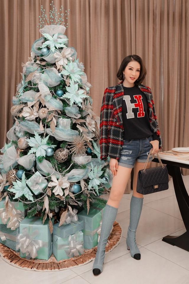 Biệt thự triệu đô của MC Thanh Mai trang hoàng lộng lẫy mùa Giáng sinh - 14