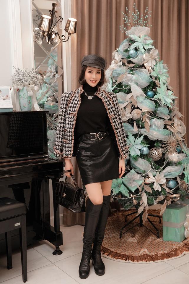 Biệt thự triệu đô của MC Thanh Mai trang hoàng lộng lẫy mùa Giáng sinh - 11