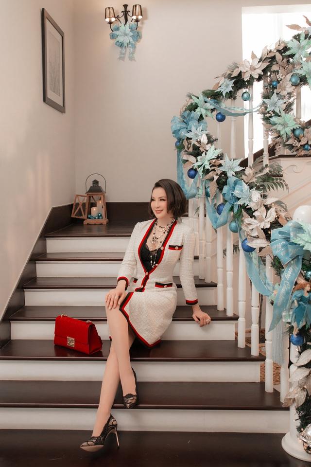 Biệt thự triệu đô của MC Thanh Mai trang hoàng lộng lẫy mùa Giáng sinh - 7