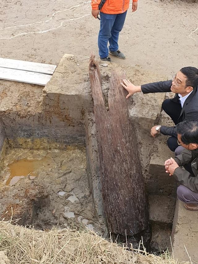 Phát lộ bãi cọc nhà Trần gần nghìn năm tuổi: Quan trọng là bảo tồn và phát huy! - 3