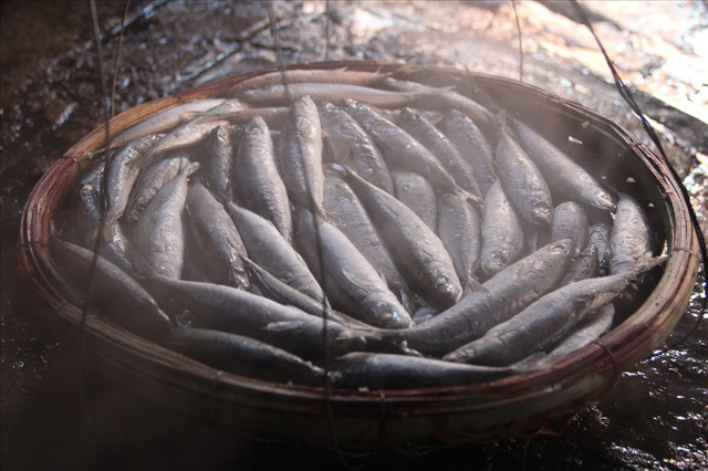 Độc đáo nghề hấp cá nuôi sống bao thế hệ - 7