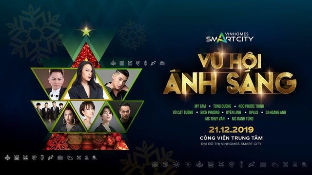 """Dàn sao Việt """"bùng nổ"""" trong Vũ Hội Ánh Sáng tại Vinhomes Smart City - 1"""