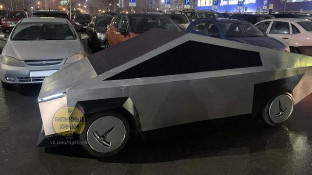 Tesla Cybertruck chưa đi vào sản xuất đã có hàng nhái - 2